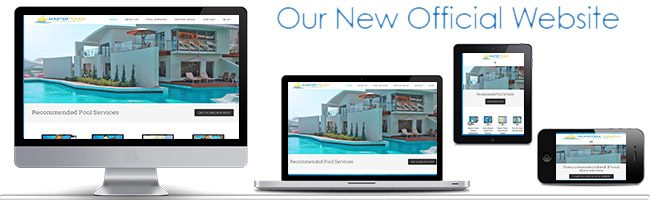 New Website for Master Touch Pool Service