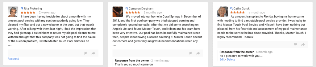 pool service coral springs reviews