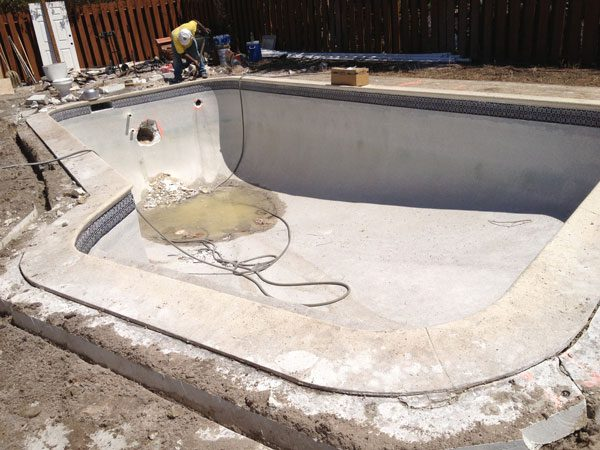 Pool Remodeling Project phase 2