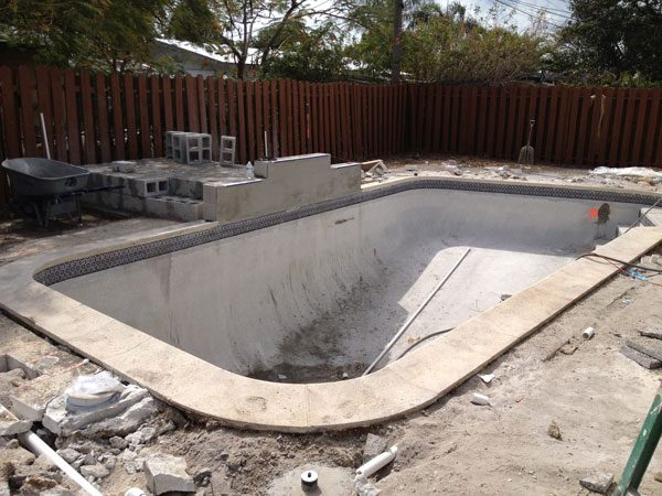 Pool Remodeling Project phase 3