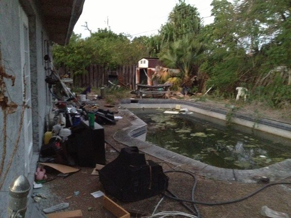 Pool Remodeling Project phase 1