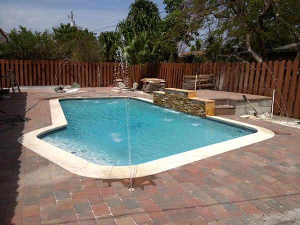 Pool Remodeling Project phase 5
