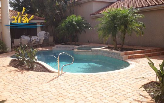 Pool Pavers and Cooping Installation