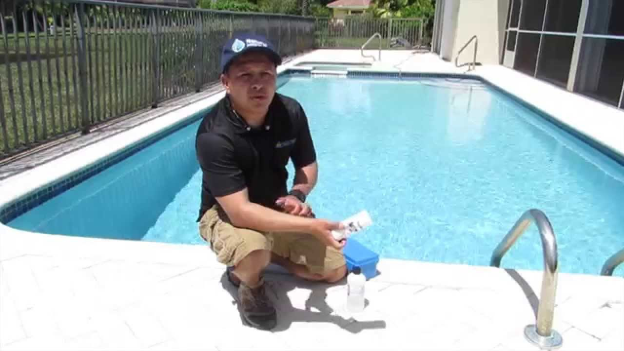 How to test your swimming pool water taylor test kit for How to test swimming pool water