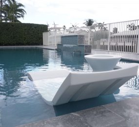 Inground Pool With Loungers